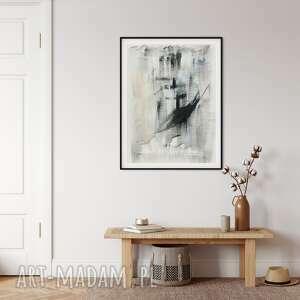 myscandi plakat abstrakcyjny japandi no 3, plakat, skandynawski