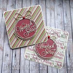 handmade pomysł na upominki na święta świąteczny dwupak
