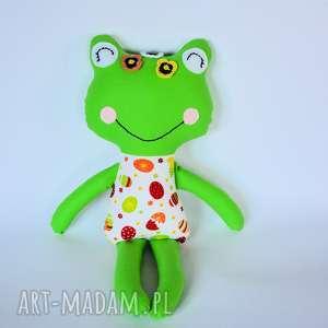 Panna żabka - Oleńka 46 cm, żabka, wielkanoc, jajko, dziewczynka, maskotka