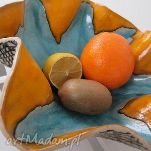 hand made ceramika maxi misa wywijana