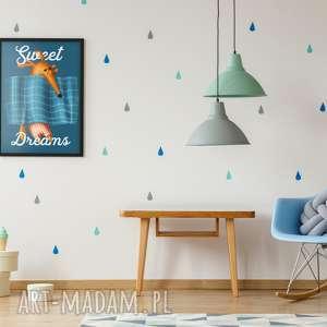 plakaty plakat a3 sweet dreams, dziecięcy, pokój, wystrój, wnętrza, ściany