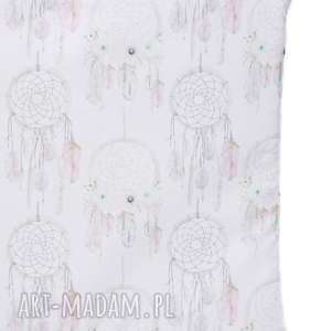 lilifranko poduszka pikowana velvet cotton łapacze/jasny róż, poduszka, dziecko