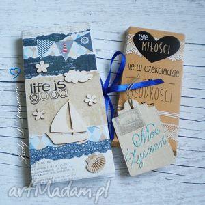 kartki stylowa kartka z opakowaniem na czekoladę etui czekoladownik, kartka, życzenia