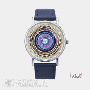 zegarki zegarek z grafiką love mandala, symbol, harmonia, yin, yang, medytacja