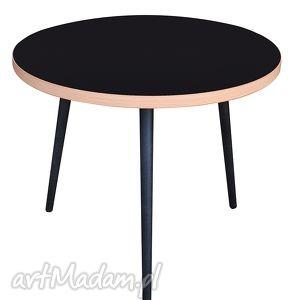 handmade stoły stolik / coffee table lumi czarny
