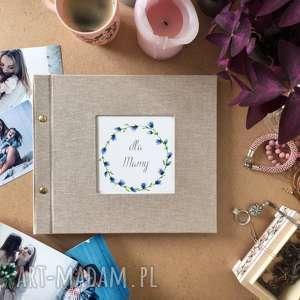 klasyczny album do wklejania zdjęć 21 cm, urodziny, dla mamy, na zdjęcia