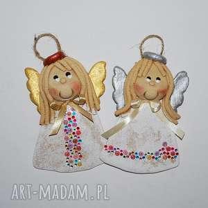 magosza świąteczne anioły - witamy anielsko, anioły, dekoracja, prezent, z masy