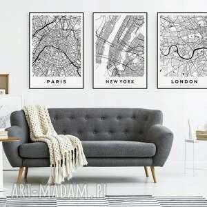 zestaw 3 plakatów #1 30x40 cm, obraz, mieszkanie, dekoracje