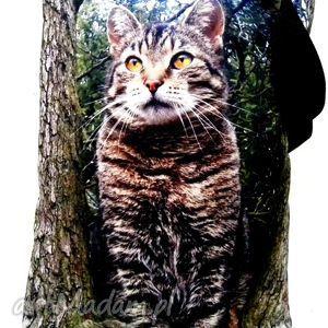 torba na napę z kotem, torba, kot, xxl, pojemna ramię