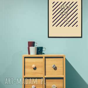art print a3 - the shadow of flower pt ii, grafika drukowana, plakat, ilustracja