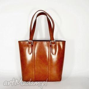 skórzana torba na ramię 50 - torba, torebka