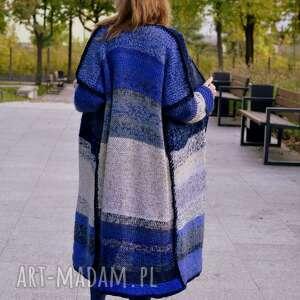 mulricolors sweter, płaszcz, kardigan, wełnianysweter, na drutach