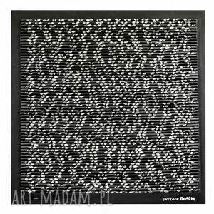 formy widzenia   asamblaż/mozaika upcyclingowa dekoracja ścienna industrialne dzieło