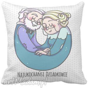 ręcznie wykonane poduszki poduszka dzień babci najukochańsi dziadkowie