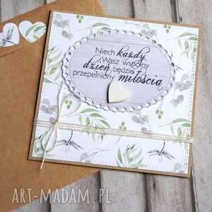 kartka ślubna :: ważki, ślub