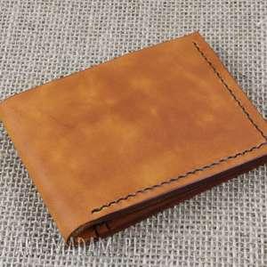 portfel ze skóry na 12 kart, męski, portfel, prezent, urodziny, imieniny, skóra