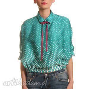 hand-made bluzki bluzka z kołnierzykiem bebe