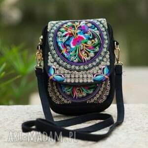 ręcznie wykonane mini torebka etniczna hmong