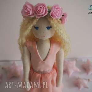 lalki lalka #161, przytulanka, personalizowana, lalka, kręcone włosy, szmacianka