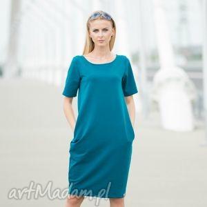 ręczne wykonanie sukienki double fold