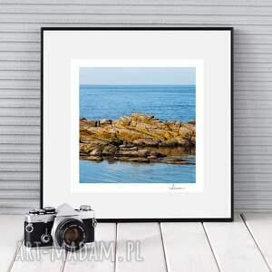 autorska fotografia, bornholm i, zdjęcie, dekoracja, prezent, morze