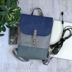 Fabrykawis plecak na laptopa, damski plecak, do pracy, mini