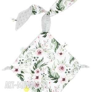 handmade maskotki przytulaczek kwiaty szary