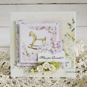 Kartka na Roczek dziewczynki, 160 - ,kartka,urodziny,roczek,pierwsze,dziewczynka,