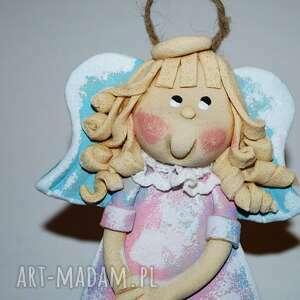handmade pomysł jaki prezent pod choinkę chyba się wstydzę - aniołek z masy