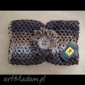 szaliki szal ażurowy - różne kolory do wyboru, szal, ażur, broszka, prezent