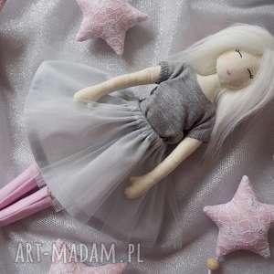 lalki lalka #193, szmacianka, przytulanka, eko lalka, tiul