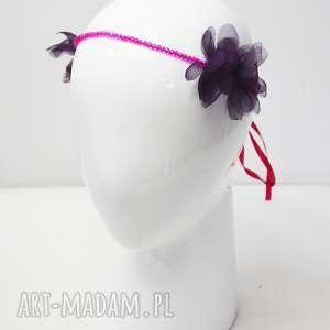 ręcznie zrobione ozdoby do włosów wiosenna opaska