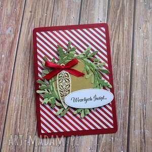 handmade świąteczne prezenty świąteczny wianek
