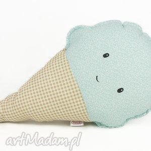 Poduszka w kształcie loda , lody, poduszka, zabawka, przytulanka, słodkie, dziecko