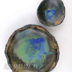 Miseczki ceramiczne ceramika polepione miska, talerz, miseczka,