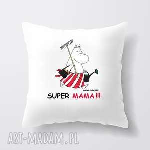licencjonowana poduszka muminki dla mamy super mama, podusia, salon, sypialnia