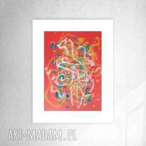 nowoczesna grafika do domu, abstrakcja biura, minimalizm dekoracja na ścianę