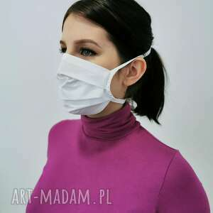Maseczka ochronna bawełna maseczki manufaktura firan maska
