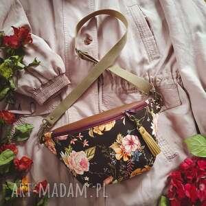 nerka xxl vintage kwiaty, nerka, vintage, torebka, kwiatowa