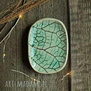 hand-made dekoracje mydelniczka łopian