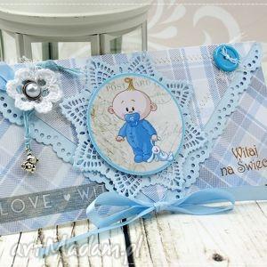 kartka z okazji narodzin- baby boy - narodziny, chłopiec, kartka, miś, gratulacje