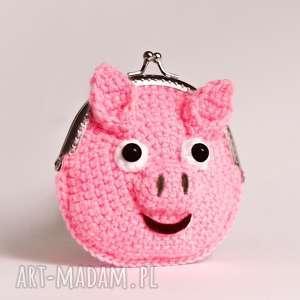 cat a needle portmonetka świnka, portfel, portmonetka, pieniądze, świnia