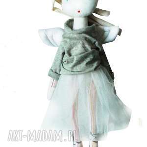 lalki sofia aniołowa, anioł, balet, skrzydła, szmacianka, eko, urodziny