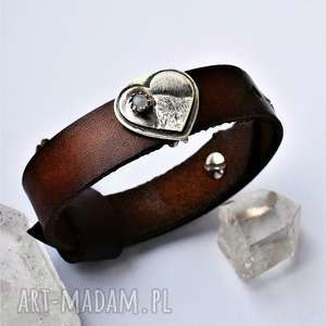 ręczne wykonanie bransoleta z miłości do gór