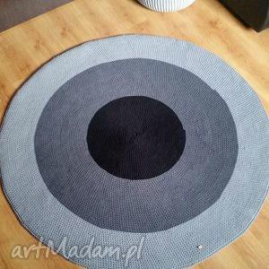 Dywan, dywan, okrągły, dziecko, salon