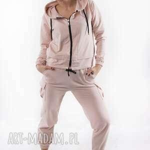 bluzy bluza latte total stick, bluza, spodnie, spódnica, sukienka, t shirt