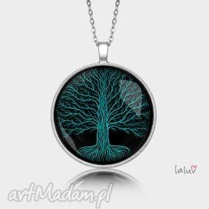 medalion okrągły konary - drzewo, korzenie, symbol, natura, grafika, życie