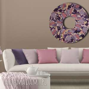 magiczny krąg 4, abstrakcja, tondo, oryginalny prezent
