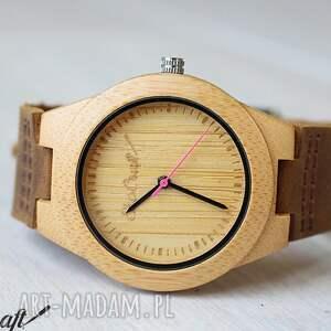 Drewniany damski zegarek BAMBOO ROSE women, zegarek, drewniany, lekki,