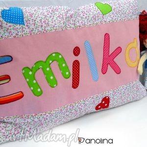 poszewka na poduszeczkę z imieniem anolina - personalizowana, imię